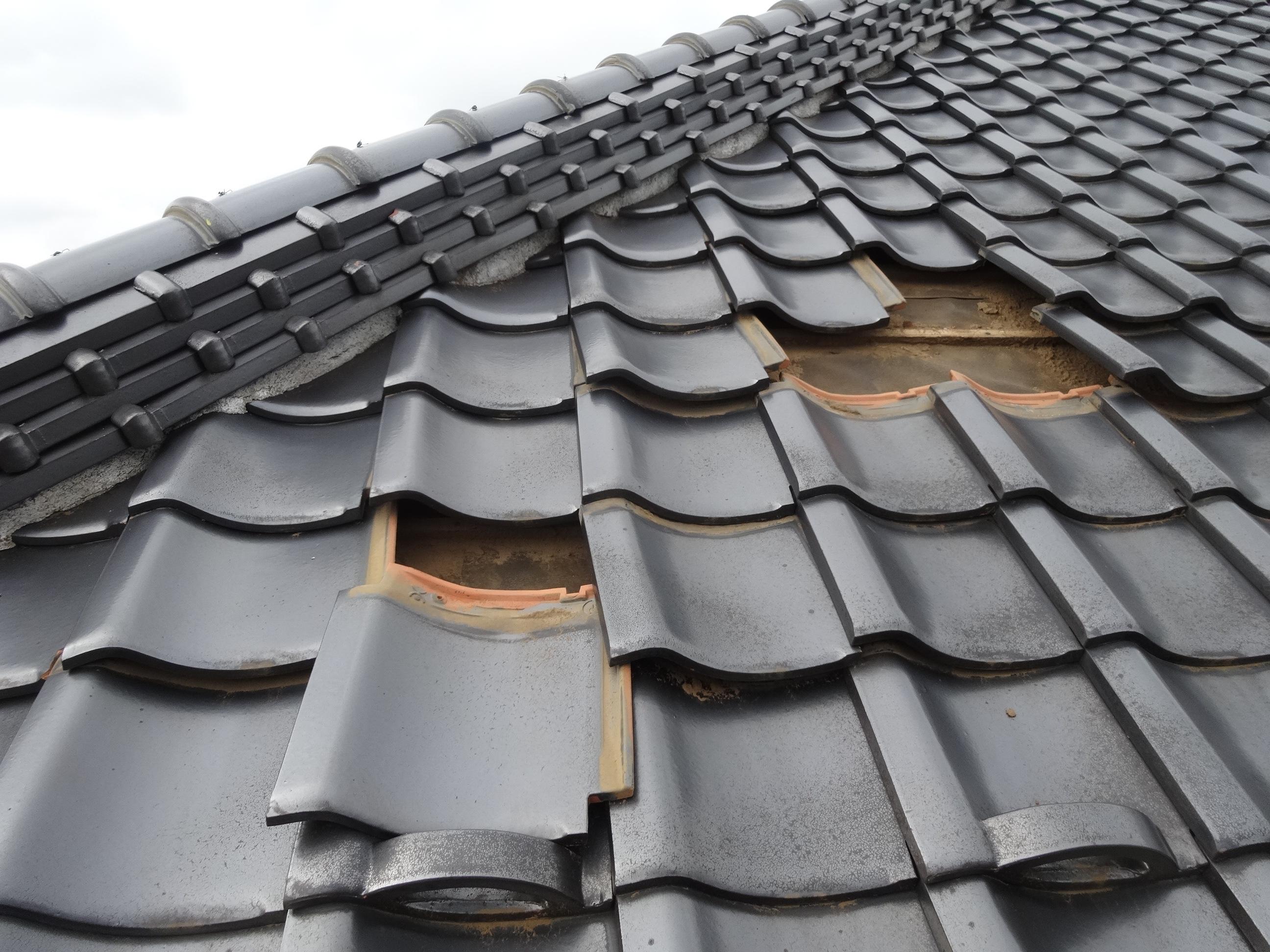台風後の点検と屋根修理はお早めに|成田市|加藤瓦店