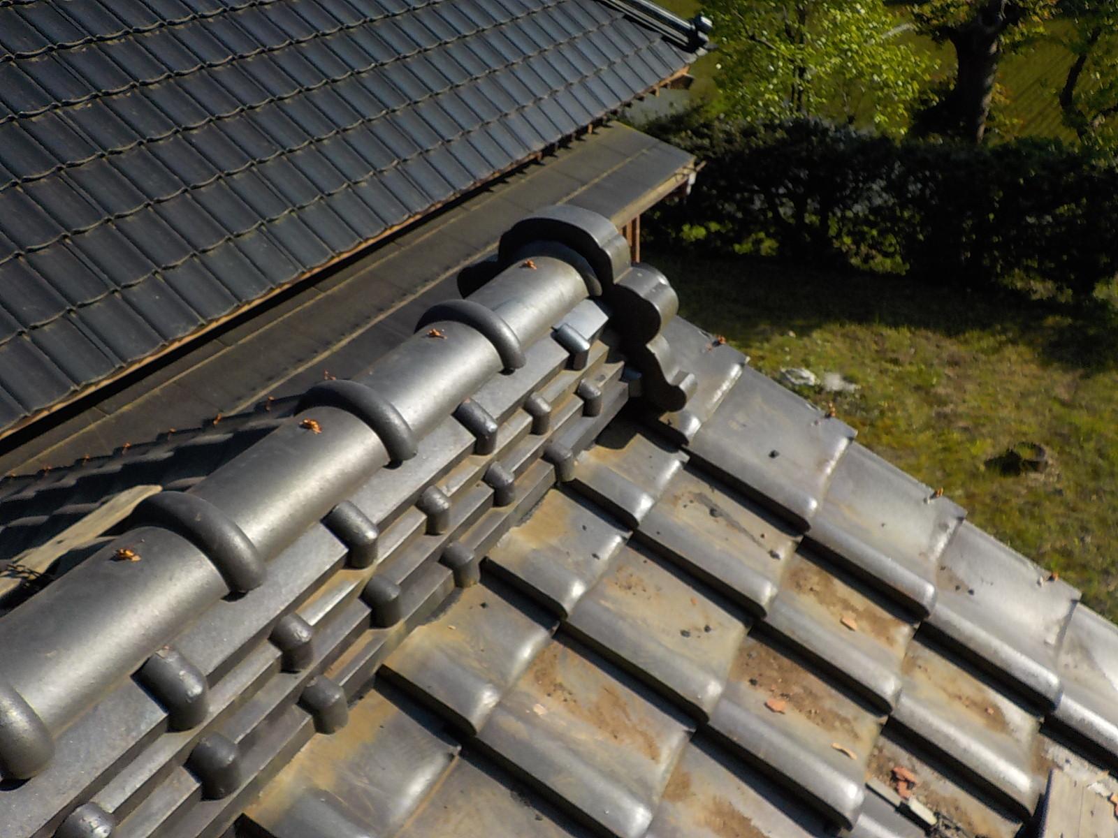 地震や雨漏りに強い棟瓦の完成。災害に強い屋根