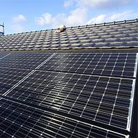 太陽光発電も創業100余年香取市佐原の加藤瓦店
