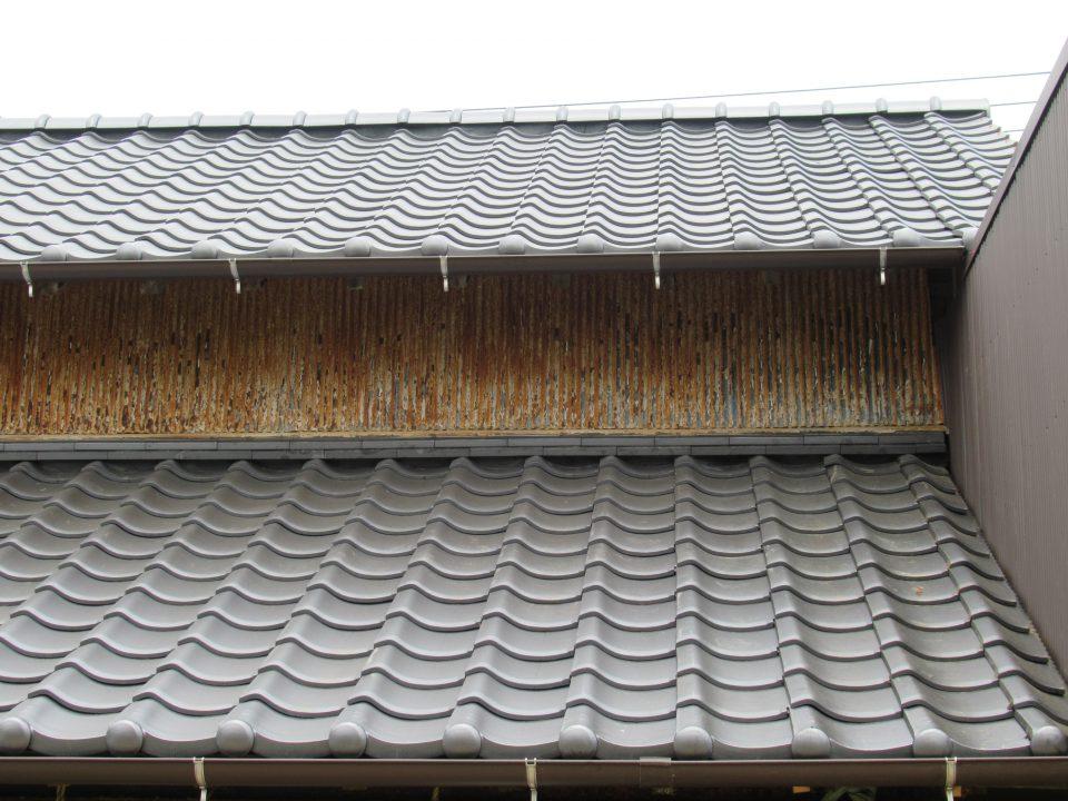 防災瓦の施工完了。台風、地震、雨漏りに強い屋根に。