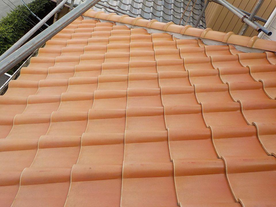 屋根のリフォーム。香取市